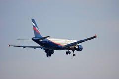 Aeroflot - linhas aéreas Airbus A320 do russo Foto de Stock