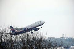 Aeroflot - linhas aéreas Airbus A321-200 VQ-BHK do russo Foto de Stock Royalty Free