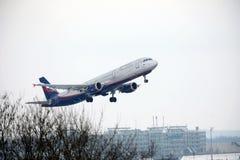 Aeroflot - linhas aéreas Airbus A321-200 VQ-BHK do russo Foto de Stock