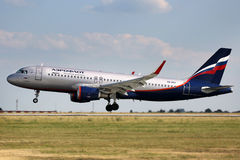 Aeroflot - linhas aéreas do russo Fotografia de Stock