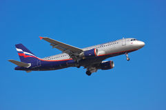 Aeroflot - Russian Airlines Airbus A320 Stock Photography