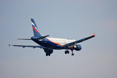Aeroflot - Russian Airlines Airbus A320 Stock Photo