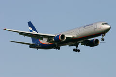 Aeroflot Russian Airlines Boeing 767 Stock Images