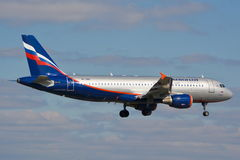 Aeroflot Russian Airlines plane Royalty Free Stock Photo