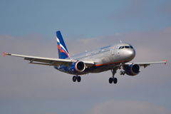Aeroflot Russian Airlines plane Royalty Free Stock Photography