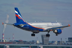Aeroflot Russian Airlines plane Stock Photos