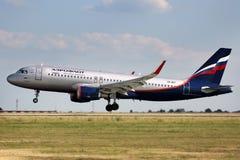 Aeroflot - russische Fluglinien Stockfotografie