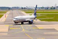 Aeroflot - russische Fluglinien Boeing 737-8LJ Stockbild