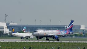 Aeroflot sprutar ut ryska flygbolag att ta av från Munich flygbolag, vår