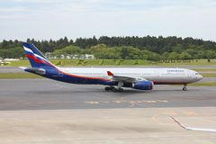 Aeroflot Royalty Free Stock Photo