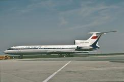 Aeroflot Tupolev TU-154M przy Moskwa Kwiecień 1990 Obraz Stock