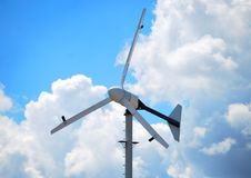 aerogenerator Στοκ φωτογραφία με δικαίωμα ελεύθερης χρήσης