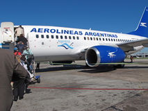 Aerolineas Argentinas jet Stock Images
