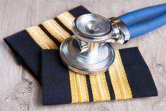 Aeromedical экзамен стоковое фото rf