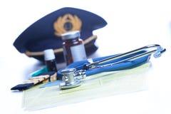 Aeromedical экзамен стоковое изображение rf