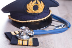 Aeromedical Exam Royalty Free Stock Photography