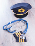 Aeromedical Exam Royalty Free Stock Photo