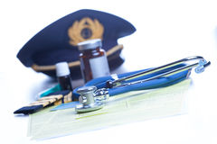 Aeromedical Exam Royalty Free Stock Image