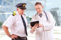 Aeromedical lotnictwo zdjęcia stock