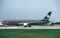 Aeromexico波音b-757-2Q8WL N805AM CN 26272 LN 594 免版税库存照片