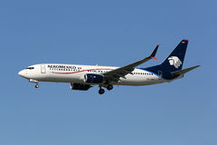 AeroMexico Boeing 737-800 airplane Stock Image
