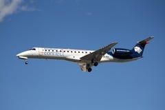 Aeromexico verbindt Embraer erj-145 Royalty-vrije Stock Afbeeldingen