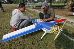 Aeromodelling Lizenzfreies Stockbild