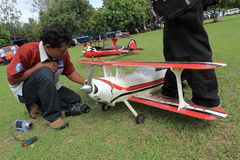 Aeromodelling Stockfotografie