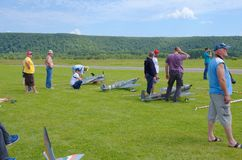 Aeromodelling Стоковое фото RF