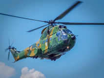 Aeronautic show 2016 from bucharest crangasi lake, romanian air force acrobatics Stock Photos
