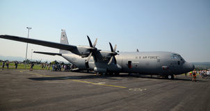 Aeronautica di Ercole C 130 Stati Uniti Immagini Stock Libere da Diritti