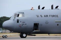 Aeronautica di Stati Uniti C-130J Fotografia Stock Libera da Diritti
