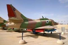 Aeronautica israeliana A-4 Skyhawk Fotografia Stock Libera da Diritti
