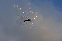 Aeronautica olandese reale Apache Immagine Stock