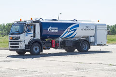 Aeronautical mobile filling station Stock Photo