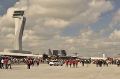 Aeronautisk festival istanbul XX arkivbild