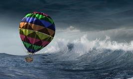 Aeronautyka jak sport Mieszani środki zdjęcia stock