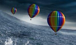 Aeronautyka jak sport Mieszani środki zdjęcie royalty free