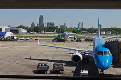 Aeroparque à Buenos Aires Photos stock
