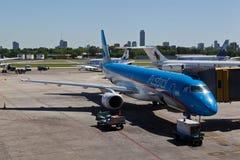 Aeroparque in Buenos Aires Lizenzfreies Stockbild