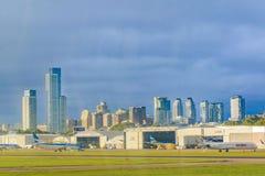 Aeroparque-Flughafen, Buenos Aires, Argentinien Stockfoto