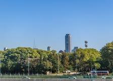 Aeroparque-Flughafen Buenos Aires Argentinien Stockbilder