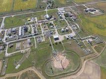 Aerophotographing-Stationstrennung und Dehydrierung des Öls und Lizenzfreie Stockbilder