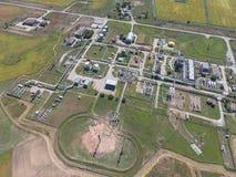 Aerophotographing-Stationstrennung und Dehydrierung des Öls und Lizenzfreies Stockbild