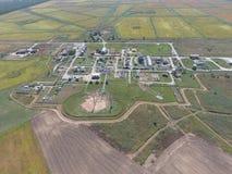 Aerophotographing-Stationstrennung und Dehydrierung des Öls und Stockfoto