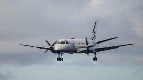 Aeroplan-Landung Lizenzfreies Stockbild