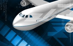 Aeroplane Stock Photo