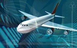 Aeroplane Royalty Free Stock Photography