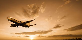 Aeroplane Royalty Free Stock Photo