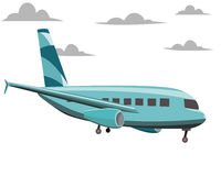 Aeroplane vector illustration